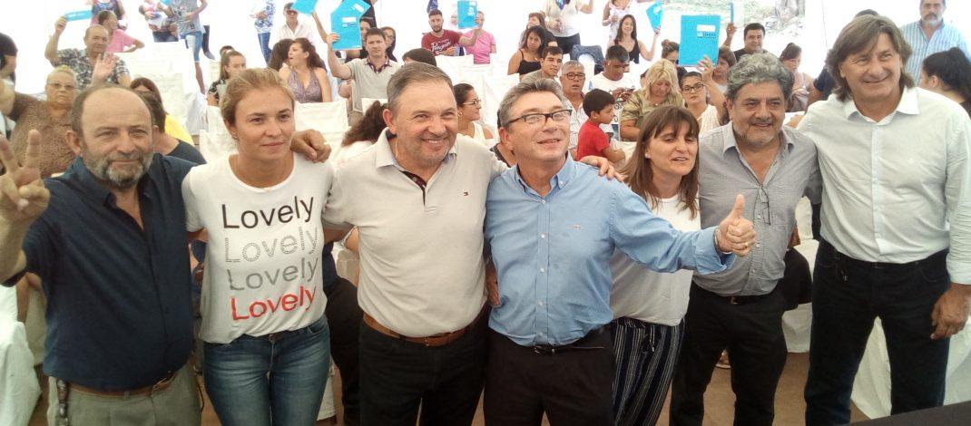 Corral de Bustos: más de 12 millones de pesos para viviendas