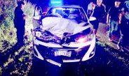 Se accidentó el hijo de Juan Carlos Massei: chocó dos vaquillonas