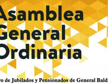 CENTRO DE JUBILADOS Y PENSIONADOS DE GENERAL BALDISSERA